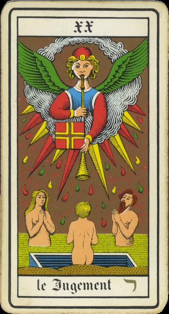 Tarocchi: l'Angelo del Giudizio