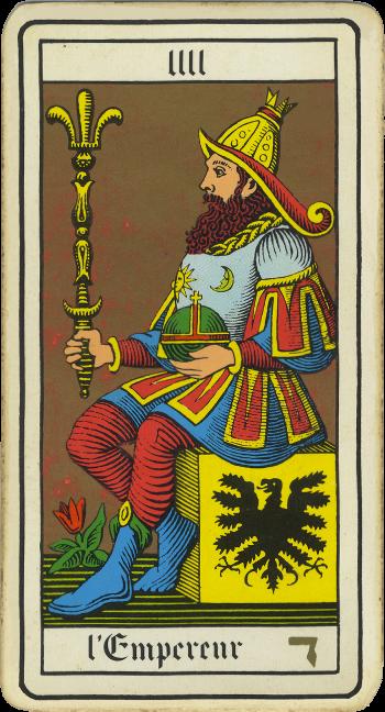 Tarocchi: l'Imperatore