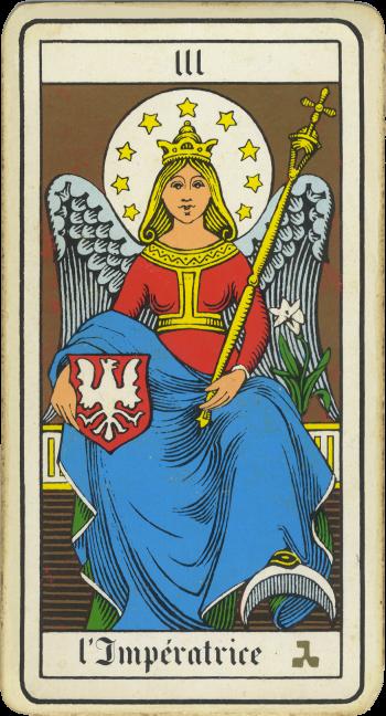 Tarocchi: l'Imperatrice