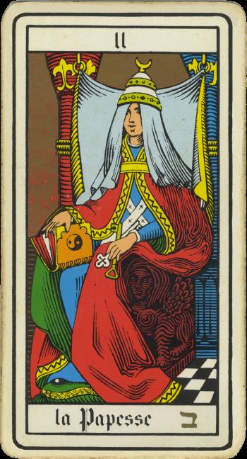 Tarocchi: la Papessa