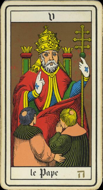 Tarot: Pope