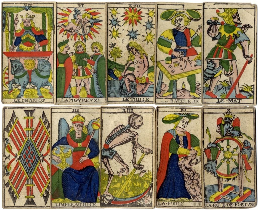 origin of the tarot