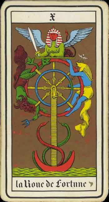 Tarot: Wheel of Fortune